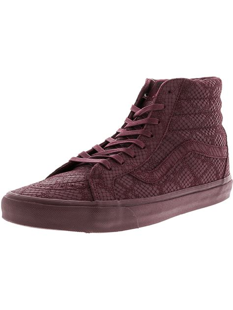 Sk8-Hi Reissue DX Reptile High-Top Leather Skateboarding Shoe
