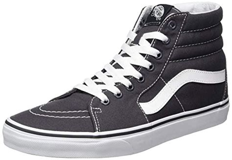 Sk8-Hi Unisex Casual High-Top Skate Shoes, Comfortable and Durable in Signature Waffle Rubber Sole
