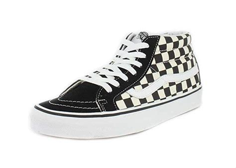 Sk8-Mid Reissue Checkerboard/True White VN0A391FQXH Skate Shoe