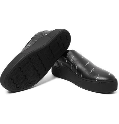 Skate Slip On Sneakers Black Balenciaga