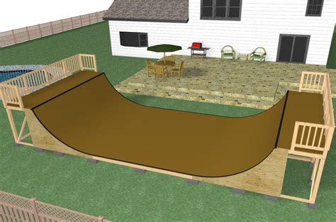 Skateboard-Ramp-Plans-Halfpipe