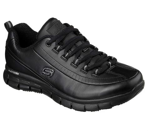 Skechers Black Non Slip Sneakers