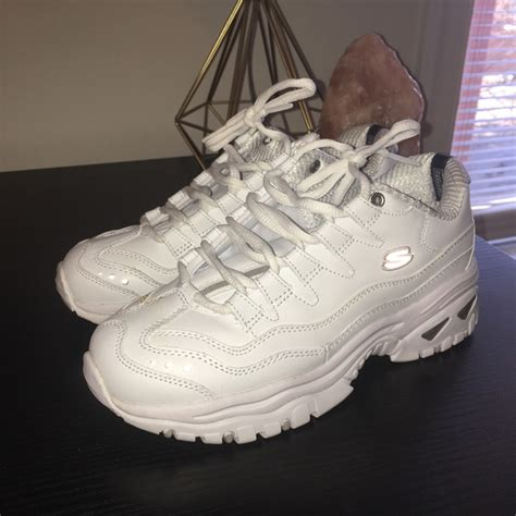 Skechers Chunky Sneakers White