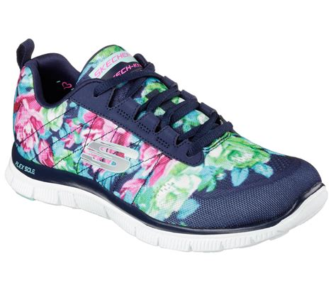 Skechers Flex Appeal Wildflowers Sneaker Womens