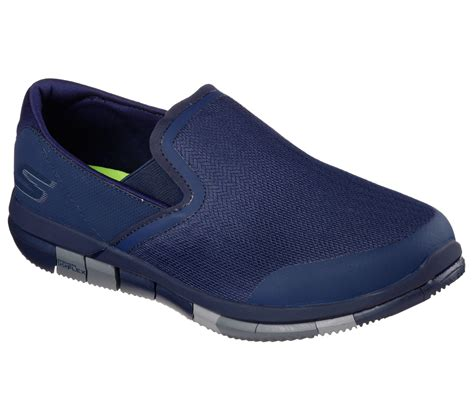 Skechers Goflex Walk Mens Black Sneaker
