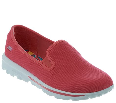 Skechers Gowalk Canvas Slip On Sneakers