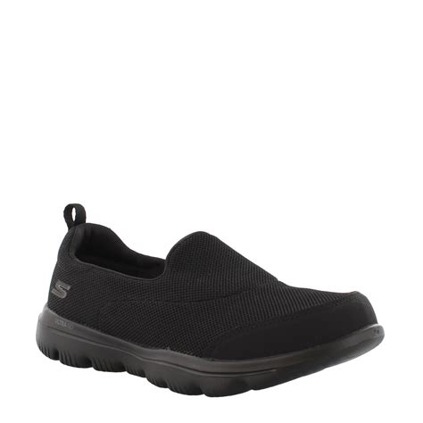 Skechers Gowalk Slip-on Mesh Sneakers Light Gray Wide