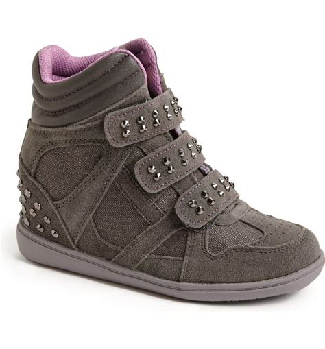 Skechers High Top Wedge Sneakers