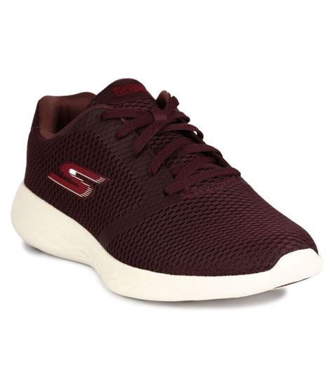Skechers Maroon Thermal Sneakers