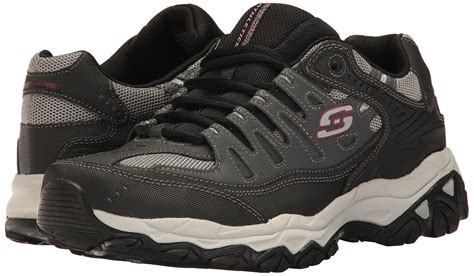 Skechers Men's Afterburn Memory-foam Lace-up Sneaker Sale