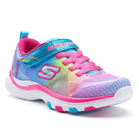 Skechers Pepsters Rainbow Preschool Girls Sneakers