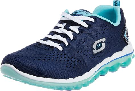 Skechers Sport Women's Skech Air 2.0 Fashion Sneaker Navy Multi