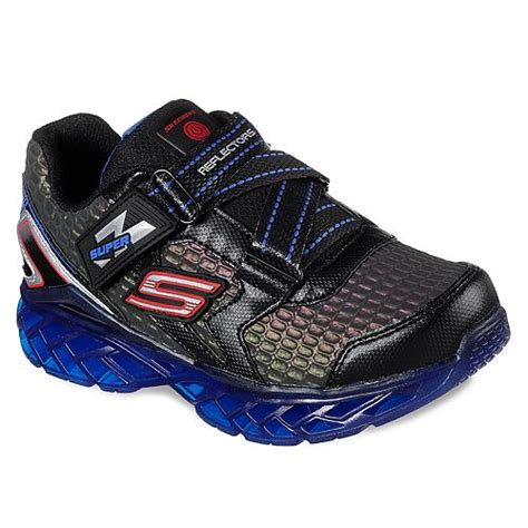 Skechers Super Z Reflextors Light Up Boys Sneakers
