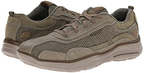 Skechers Usa Men's Glides Status Lace Up Sneaker
