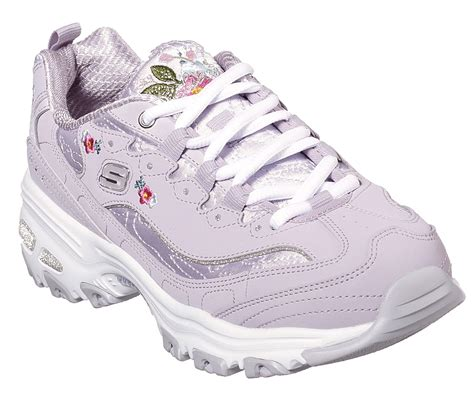 Skechers Women's D Lites Bright Blossoms Sneaker