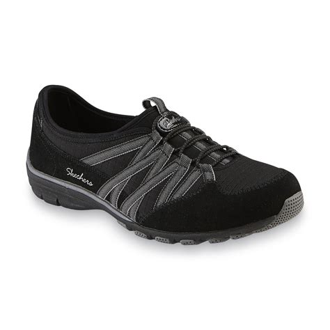 Skechers Womens Black Sneakers