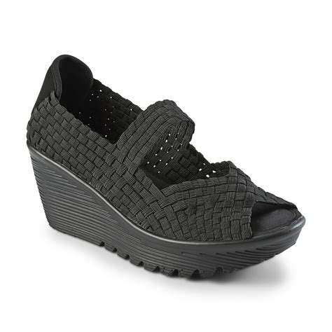 Skechers Womens Woven Sneakers