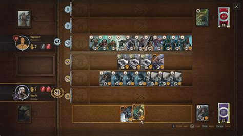 Skellige Gwent Deck Build Witcher 3 Console