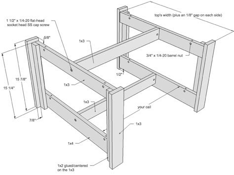 Sketch-Plan-Of-A-Table