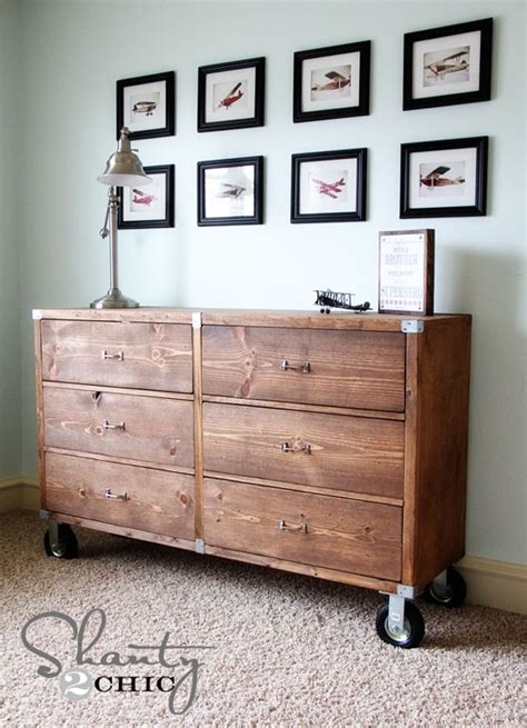 Sketches Of Diy Wood Dressers