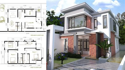Sketchup 2d House Plans