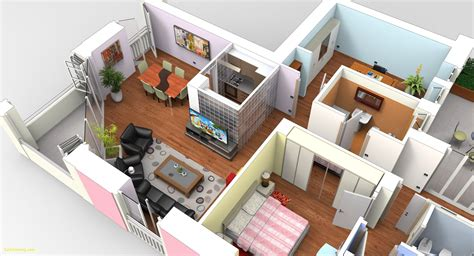 Sketchup Floor Plan View