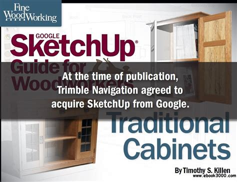 Sketchup Guide For Woodworkers (Ebook) Free Download