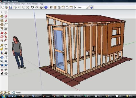 Sketchup Shed Plans 8x12
