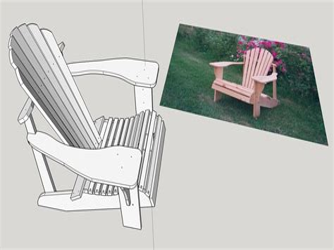 Sketchup-Adirondack-Chair-Plans