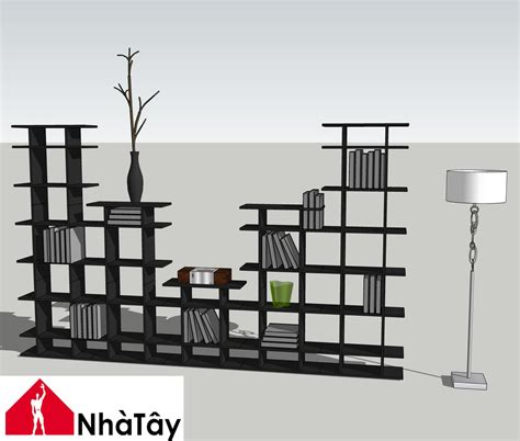 Sketchup-Bookshelf-Plans