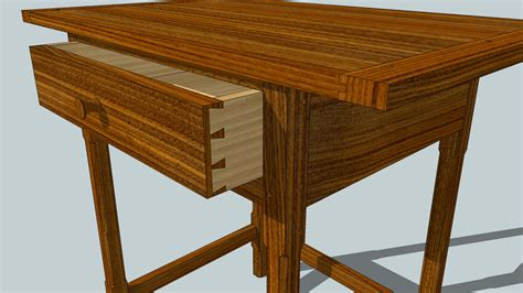 Sketchup-Fine-Furniture-Plans