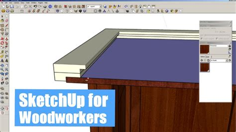 Sketchup-For-Woodworkers-Youtube