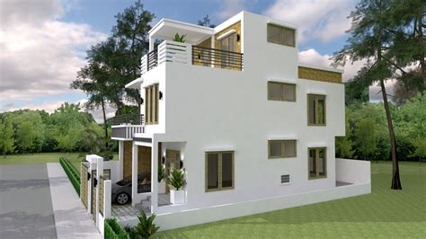 Sketchup-Free-House-Plans