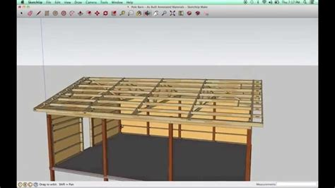 Sketchup-Pole-Barn-Plans