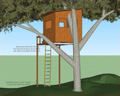 Sketchup-Treehouse-Plans