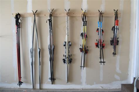 Ski Storage Rack Diy