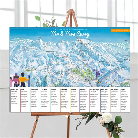 Ski-Table-Plan