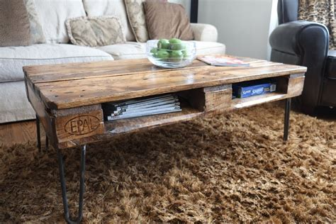 Skid Coffee Table Diy Ideas