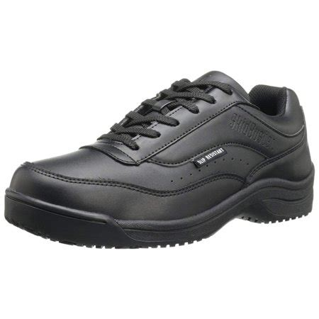 Skidbuster 5070 Men's Leather Slip Resistant Athletic Shoe