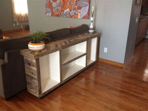 Skinny Console Table Diy Wood