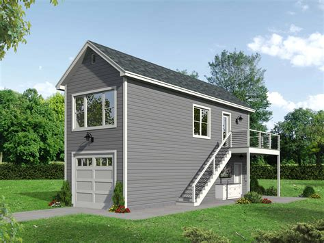 Skinny Homes With 1 Car Garage Plans