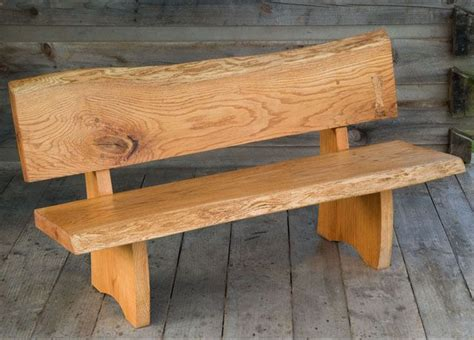 Slab Wood Outdoor Table With Benches Plans