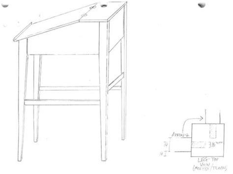 Slant-Top-Desk-Plans-Free