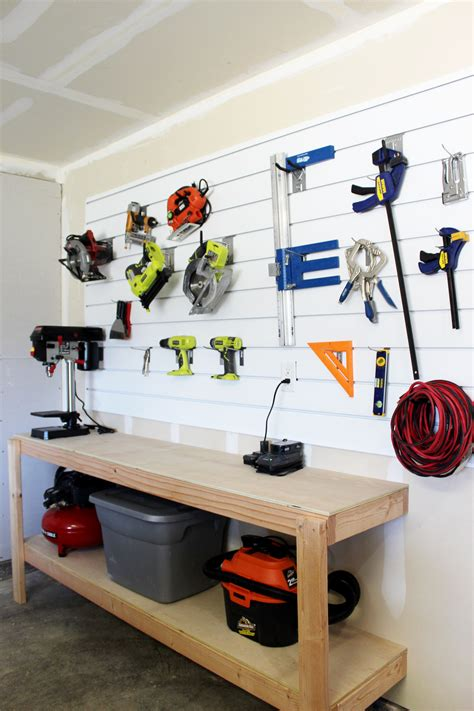 Slat Wall Home Workshop Plans