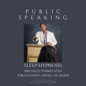 Sleep Hypnosis Public Speaking And Weight Loss Hypnosis Videos Youtube