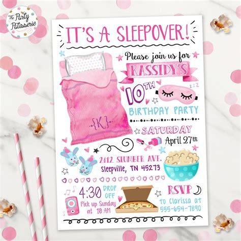 Sleepover-Invitations-Diy