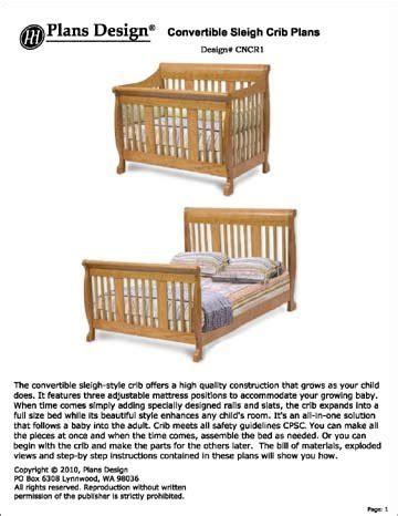 Sleigh-Crib-Plans