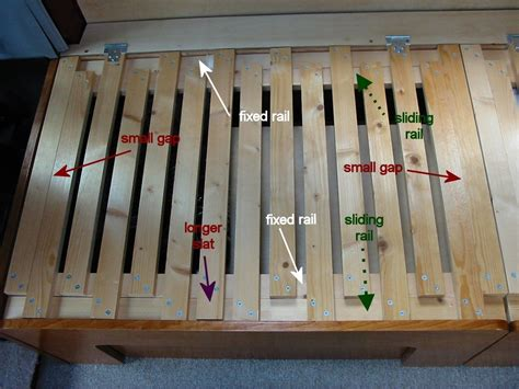 Slide Out Sofa Bed Diy Rail