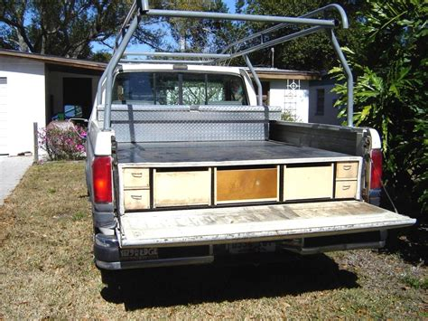 Slide Out Truck Bed Diy Covered
