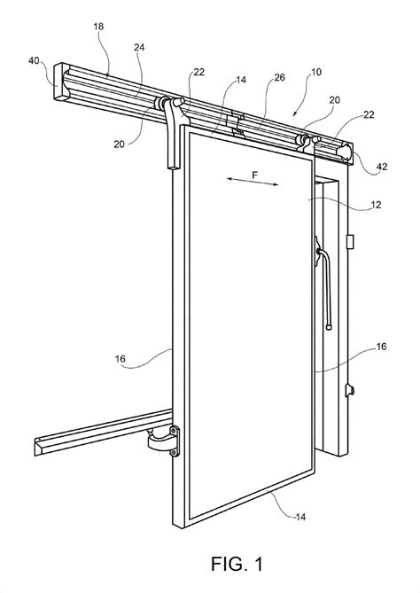 Sliding Barn Door Plan Drawing